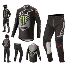 Alpinestars Racer Tech Ammo Monster Energy Combo Jersey Crosshose