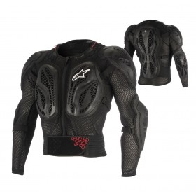 Alpinestars Bionic Action Jacket Protektion schwarz rot