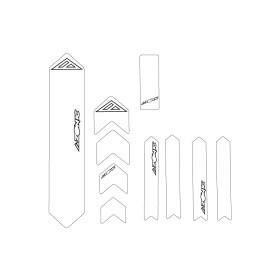 Azonic Rahmenschutz klar XL