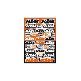 Blackbird Aufkleber Set multi Logo KTM