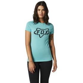 Fox Division Tech Girls T-Shirt SS hellblau