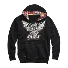 SHIFT Madras Zip Hoody Gr. M