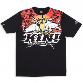 Kini Red Bull T-Shirt Thunder schwarz