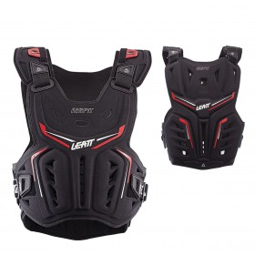 Leatt Brustpanzer 3DF schwarz rot Chest Protector MX Enduro Motocross