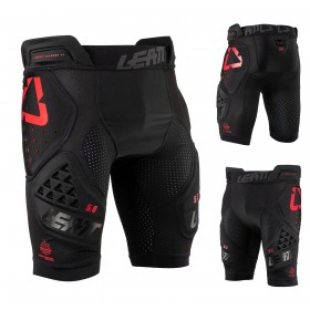 Leatt Impact Shorts 3DF schwarz 5.0