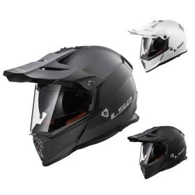 LS2 Enduro Helm MX436 Pioneer Solid
