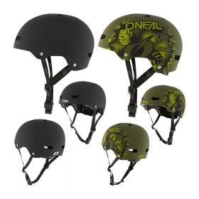 Oneal Dirt LID ZF Solid MTB Halbschalen Helm