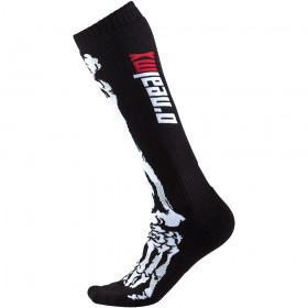 Oneal Pro MX Socken Kinder XRay schwarz weiss