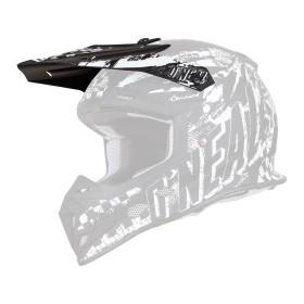 Oneal Spare Visor 5Series Crosshelm Rider schwarz weiss