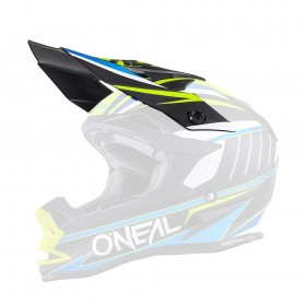Oneal Spare Visor 7Series Crosshelm Evo CHASER blau