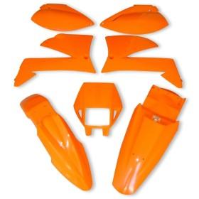 Plastiksatz KTM LC4 99 Supermoto orange