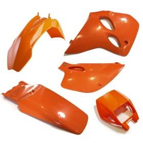 Plastiksatz KTM LC4 Supercompetition orange