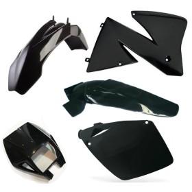 Plastiksatz KTM EXC 00-02 schwarz