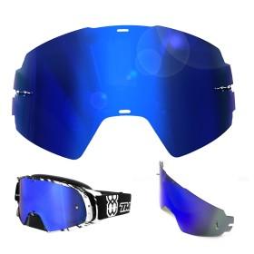 Rocket Spiegelglas blau