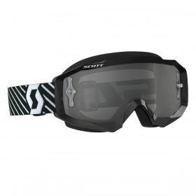 Scott Hustle MX Brille schwarz weiss - light sensitive
