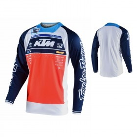 Troy Lee Designs SE Pro Team Boldor Jersey blau orange