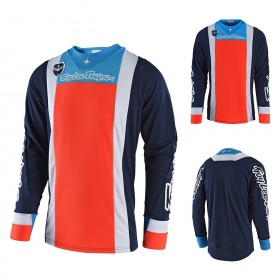 Troy Lee Designs SE Squadra MX Jersey blau orange