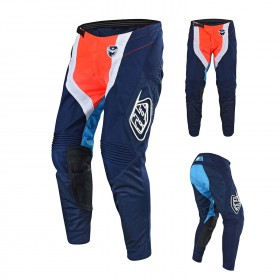 Troy Lee Designs SE Squadra Crosshose blau orange
