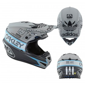 Troy Lee Designs Kinder Crosshelm SE4 Team Edition 2