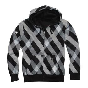Shift Zip Hoody Lumberjack grau schwarz