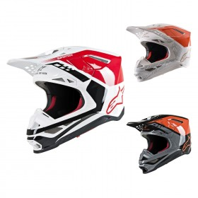 Alpinestars Supertech M8 Triple Crosshelm