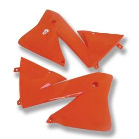Tankspoiler Paar orange für KTM 02