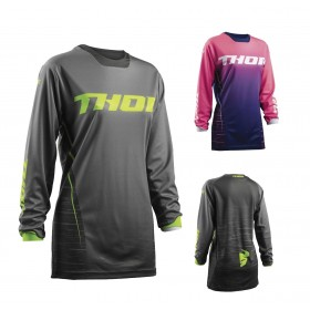 Thor Girls Pulse DASHE MX Jersey