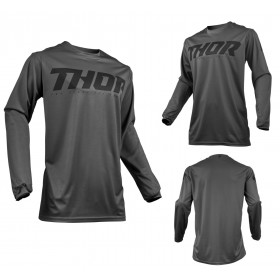 Thor MX Jersey Pulse Smoke grau