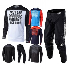Troy Lee Designs GP Raceshop Mono Combo Jersey Crosshose