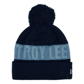 Troy Lee Designs COMMON POM Beanie blau