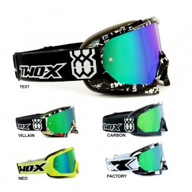 TWO-X Race Crossbrille grün verspiegelt Graphic