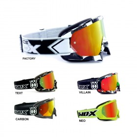 TWO-X Race Crossbrille iridium verspiegelt Graphic