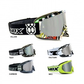 TWO-X Race Crossbrille silber verspiegelt Graphic