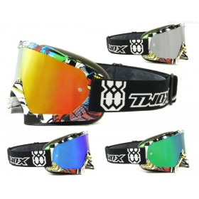 TWO-X Race Villains MX Enduro Crossbrille verspiegelt