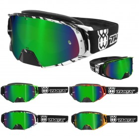 TWO-X Rocket Crush Crossbrille green verspiegelt