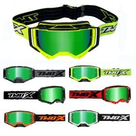 TWO-X ATOM Crossbrille verspiegelt grün