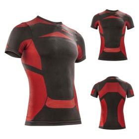 Acerbis Unterziehhemd X-BODY SUMMER SS schwarz rot