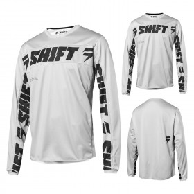 Shift WHIT3 LABEL SALAR Jersey LE weiss silber