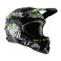 Oneal 3Series Crosshelm Attack 2.0 schwarz neongelb mit TWO-X Race Brille