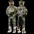 Oneal Element Attack Combo Crosshose Jersey Handschuhe in Schwarz, Bunt, Neongelb