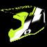 Oneal 10Series Blur Ersatz Helmschirm in Schwarz, Neongelb