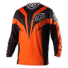 Troy Lee Designs GP Mirage Jersey in Rot, Schwarz, Weiss, Orange, Blau